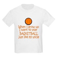 Basketball...just like Uncle Kids T-Shirt