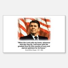 Ronald Reagan: When the Lord Decal