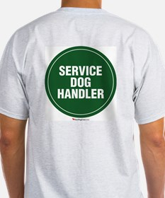 Service Dog Handler T-Shirt