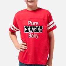 purecowboybabytrans Youth Football Shirt