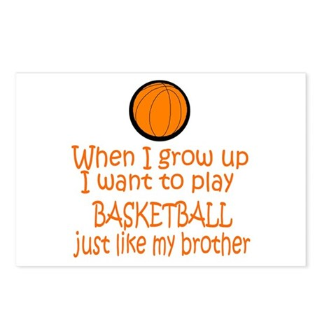 Basketball...just like BROTHER Postcards (Package