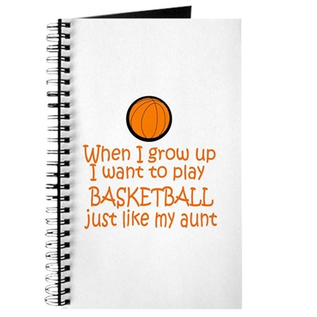 Basketball...just like AUNT Journal