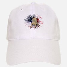 Bearded Dragon USA Baseball Baseball Cap