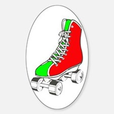 Roller Skate for Health Decal