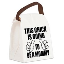 Going To Be A Mommy Canvas Lunch Bag