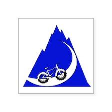 Fat Bike mountain Sticker