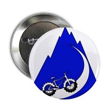 "Fat Bike mountain 2.25"" Button"