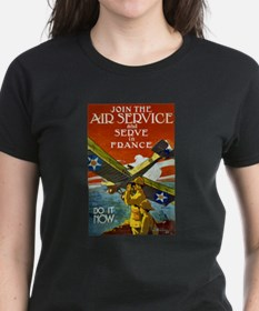 Air Service WWI Poster Tee