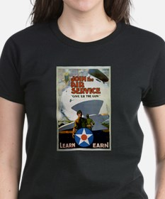 """Give'er The Gun"" WWI Poster Tee"