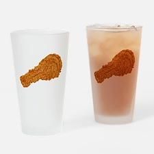 Fried Chicken Drinking Glass