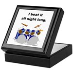 DRUMMER I beat it all night long Keepsake Box