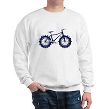 black and blue bike Sweatshirt