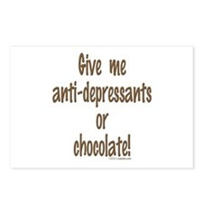 Give me chocolate Postcards (Package of 8)