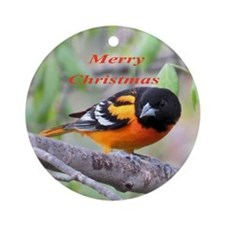 Baltimore Oriole Ornament (Round)