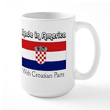 Croatian Parts Mug
