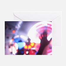 DJ Concert Greeting Card