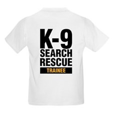 K-9 SAR Trainee Kids T-Shirt