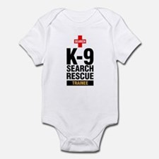 K-9 Search & Rescue Trainee Infant Creeper/Onesie