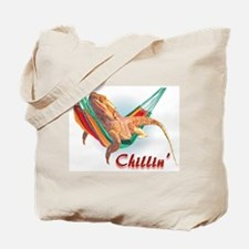 Bearded Dragon Chillin Tote Bag