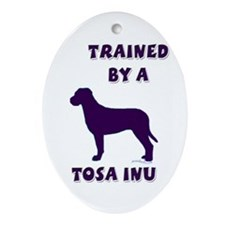 Tosa Inu Ppl Oval Ornament