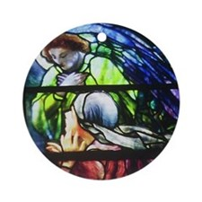 Mary Magdalene Ornament (Round)