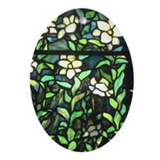 Lilies Oval Ornament