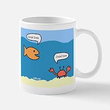 Crabe Diem Small Small Mug