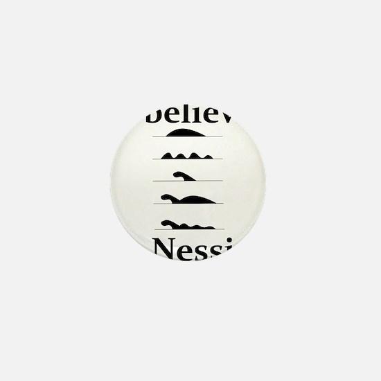 I Believe in Nessie Mini Button