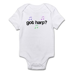 Got Harp? Infant Bodysuit