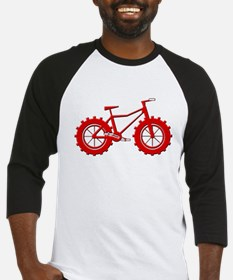 Fatbike Red Baseball Jersey