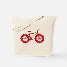 Fatbike Red Tote Bag