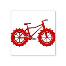 Fatbike Red Sticker