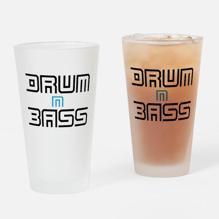 Drum N Bass Drinking Glass