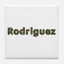 Rodriguez Army Tile Coaster