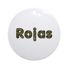 Rojas Army Round Ornament