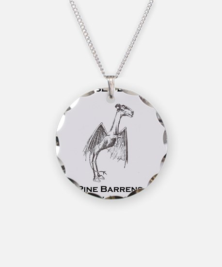 Jersey Devil Pine Barrens New Jersey Necklace