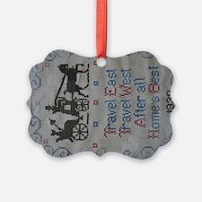 TRAVEL EAST Ornament