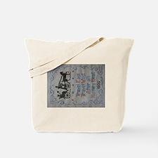 TRAVEL EAST Tote Bag