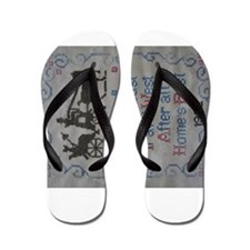 TRAVEL EAST Flip Flops