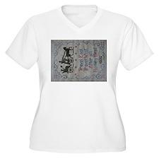 TRAVEL EAST Plus Size T-Shirt