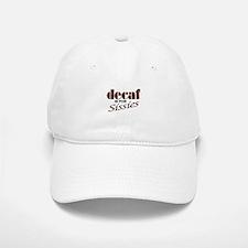 Decaf Baseball Baseball Cap