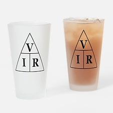 OHM's Law Triangle Drinking Glass