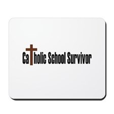 Catholic School Mousepad