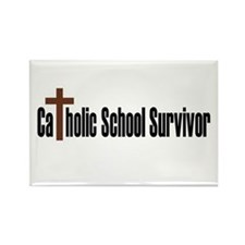 Catholic School Rectangle Magnet