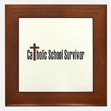 Catholic School Framed Tile