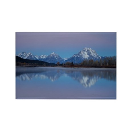 Oxbow Bend Sunrise Rectangle Magnet (10 pack)