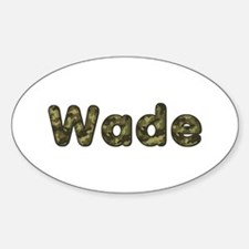 Wade Army Oval Decal
