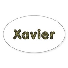 Xavier Army Oval Decal