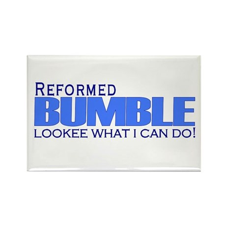 Reformed Bumble Rectangle Magnet