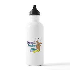 Math Teacher Water Bottle